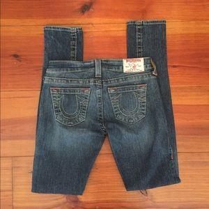 True Religion Jeans 'Stella' Sz 26x32.5 Skinny EUC